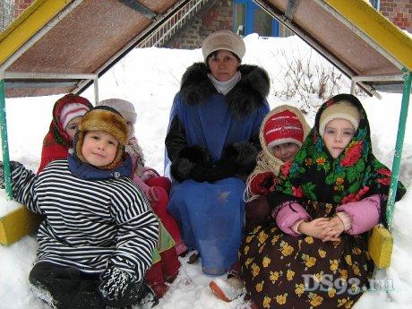 Зима 2011 детский сад теремок