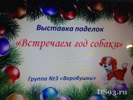 """""""¬стречаем год собакиї"""